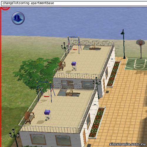 многоквартирные дома Sims 2 2