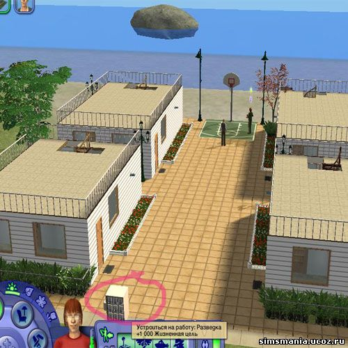 многоквартирные дома Sims 2